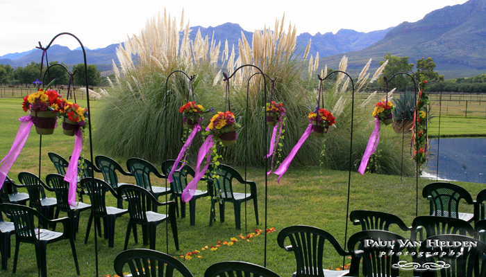 The Wedding Ceremony Site at Tres Alamos Ranch