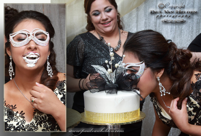 Quinceanera Cake Ceremony