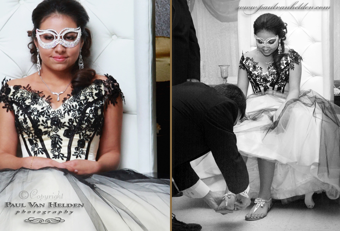 Quinceanera Shoe Ceremony